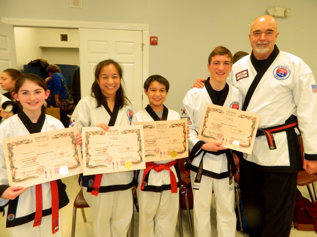 Black Belt Grading - Feb. 19, 2016