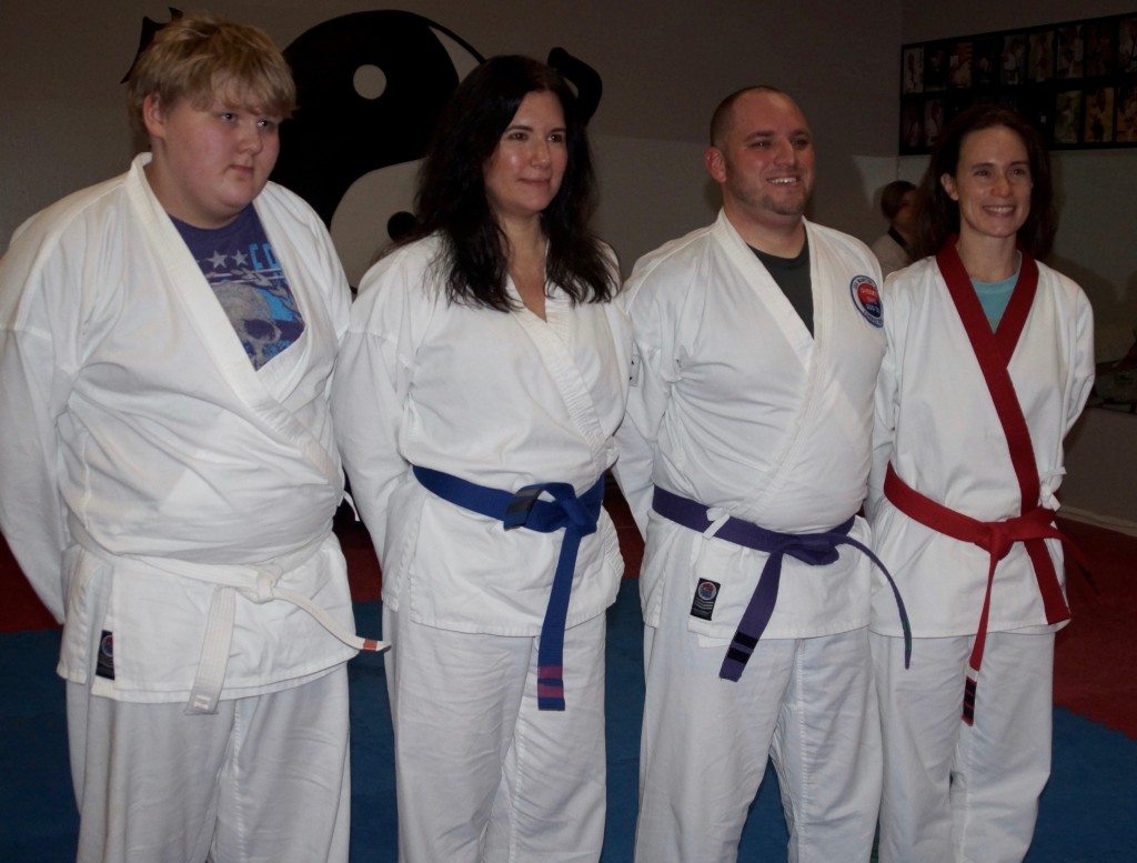 Woodbury Adult Grading - Feb. 2016